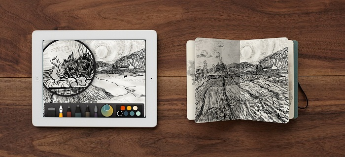 Book by FiftyThree and Moleskine