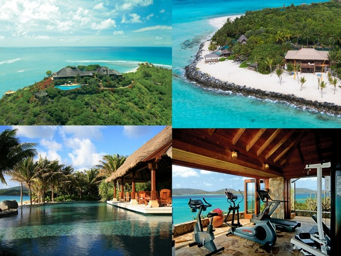 Richard Branson – Necker Island