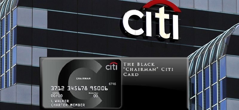 Citigroup Black Chairman Kart