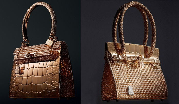 cb5e929a20125 Hermes Rose Gold, Diamond Birkin ve Kelly Çantaları