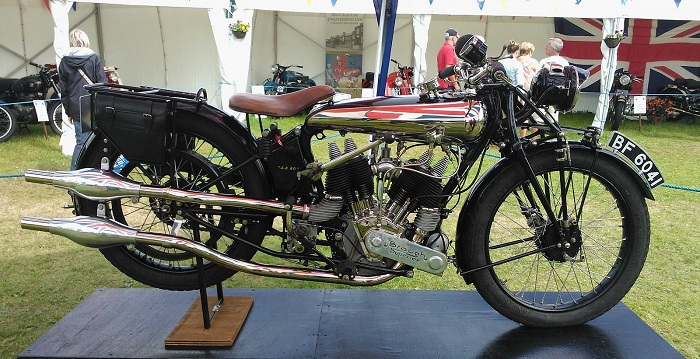 "1922 Brough Superior SS-80 ""Old Bill"""