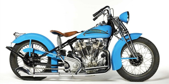 "1937 Crocker ""Hemi Head"""
