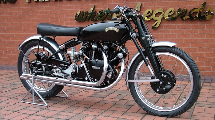 1949 Vincent Series C Black Lightning