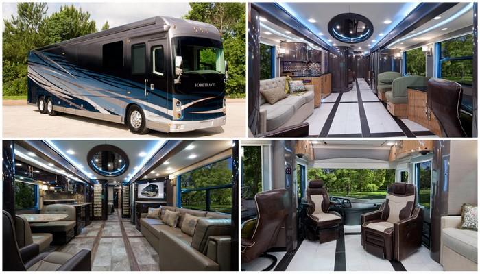 2015 Foretravel IH-45 Luxury Motor Coach