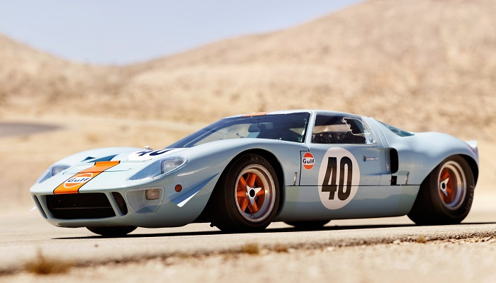 1968 Ford Gulf GT40 - Le Mans