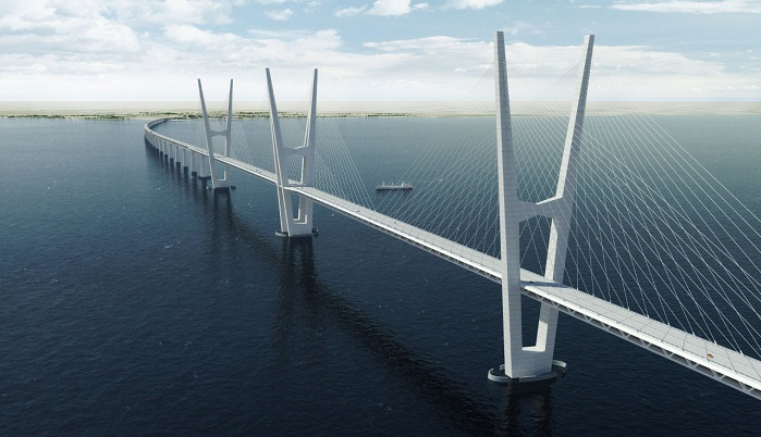 Great Belt Fixed Link - Danimarka