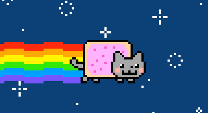 Keyboard Cat / Nyan Cat