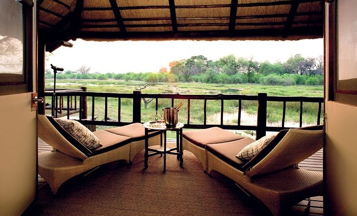 Khwai River Lodge - Moremi Wildlife Reserve/Botswana