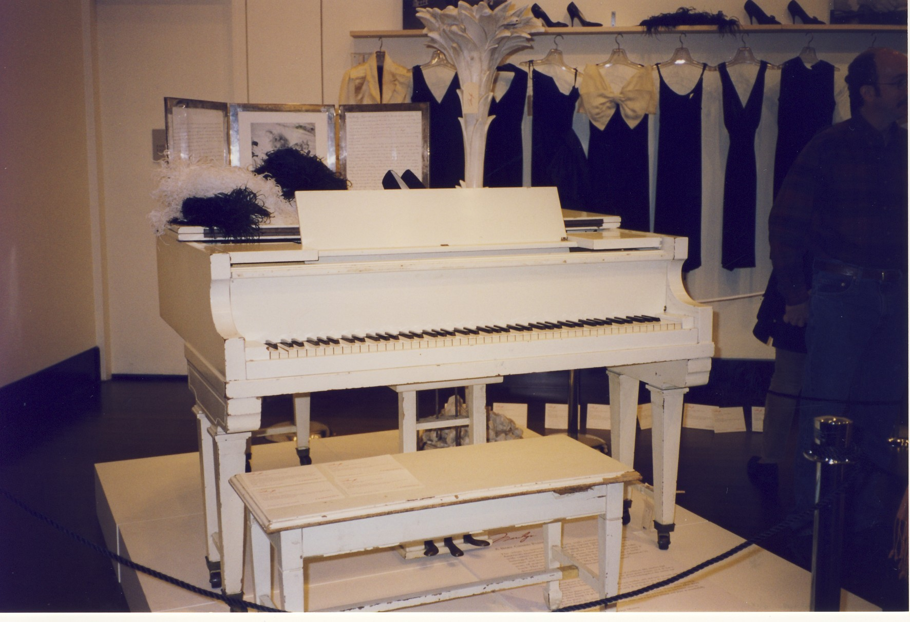 Marilyn Monroe'nun Baby Grand Piyanosu