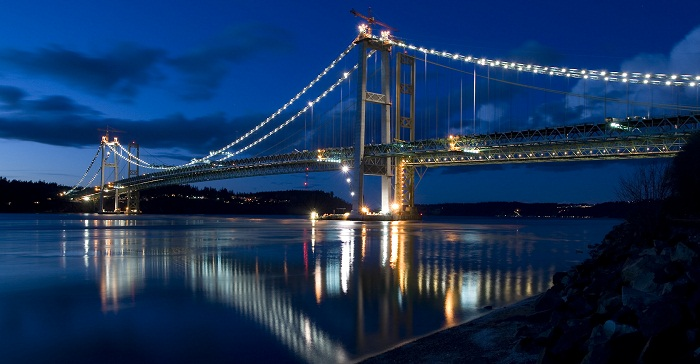 Tacoma Narrows Köprüsü - Washington