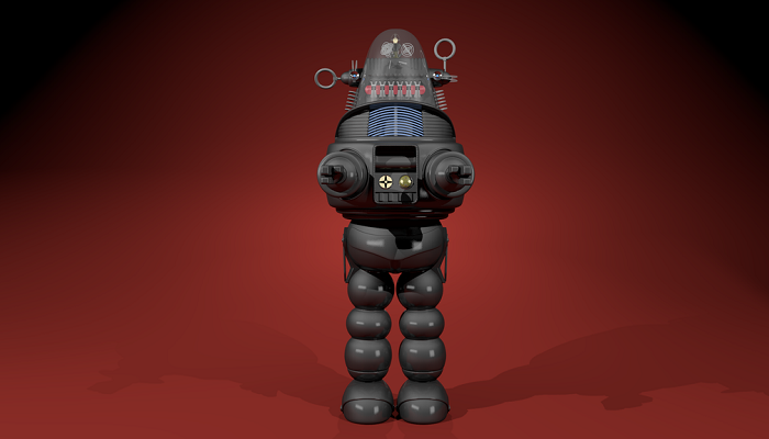 The Genuine 7 - foot Robby Robot
