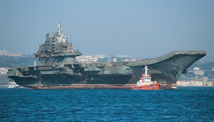 Varyag Aircraft Carrier