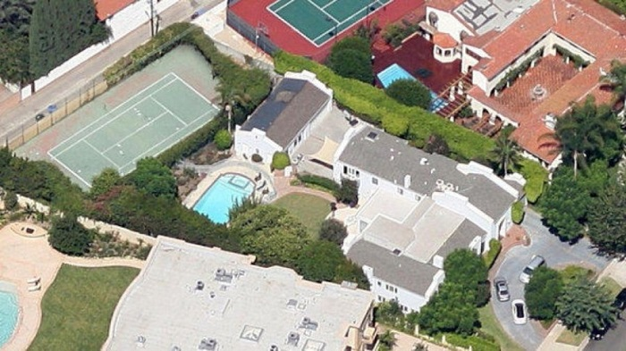 Ira Gershwin's Home - Beverly Hills/California