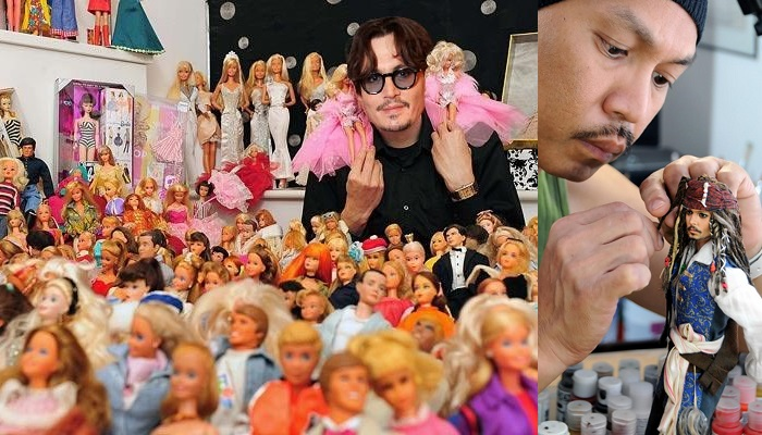 Johnny Depp - Barbie Bebekler