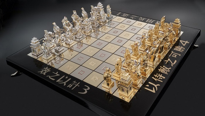 Art of War Chess Set Victor Scharstein Satranç Takımı