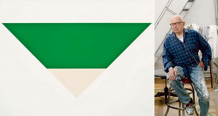 Green White (1968) - Ellsworth Kelly
