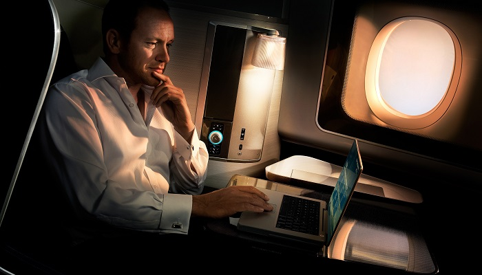 British Airways First Class Kabin