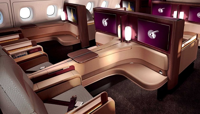 Katar Airways First Class Kabin