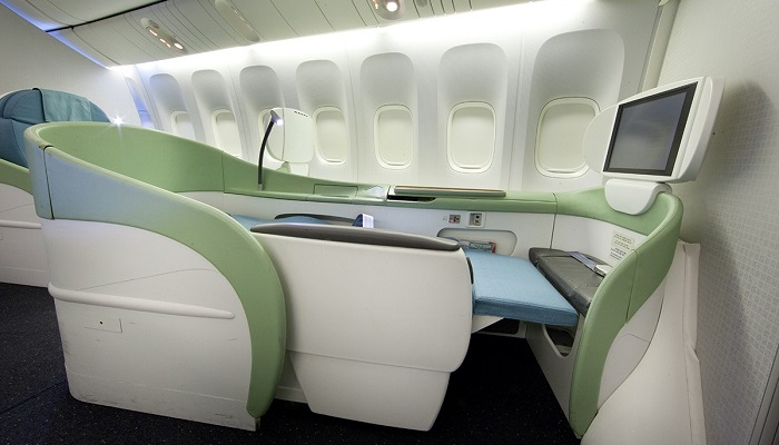 Korean Air First Class Kabin (Kosmo Suit)