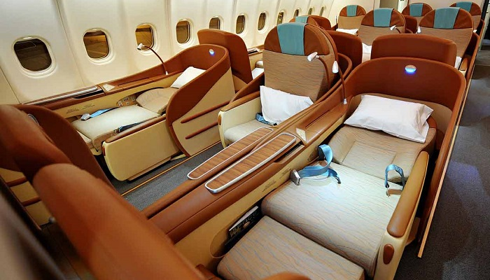 Oman Air First Class Kabin