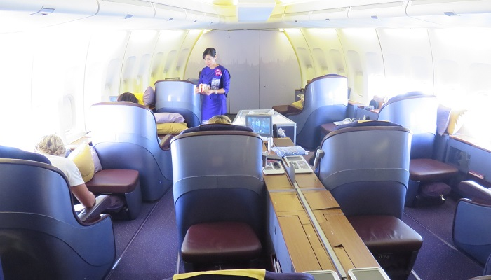 Thai Royal First Class Kabin