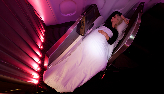 Virgin Atlantic First Class Kabin