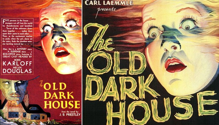 "1932 ""Old Dark House"" Filminin Posteri"