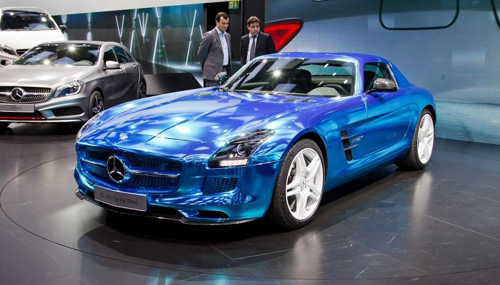 Mercedes Benz SLS AMG Electric