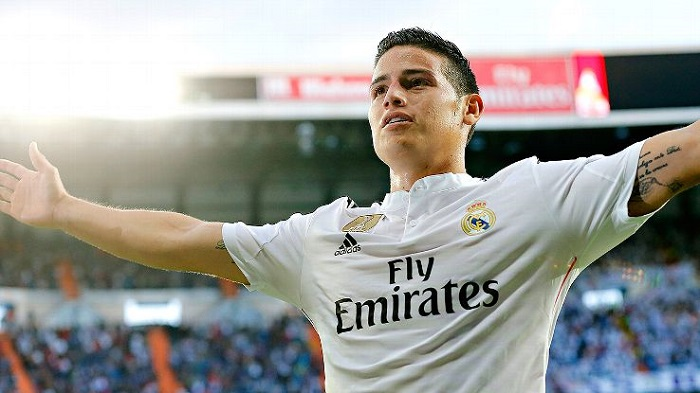 James Rodriguez (AS Monaco-Real Madrid)