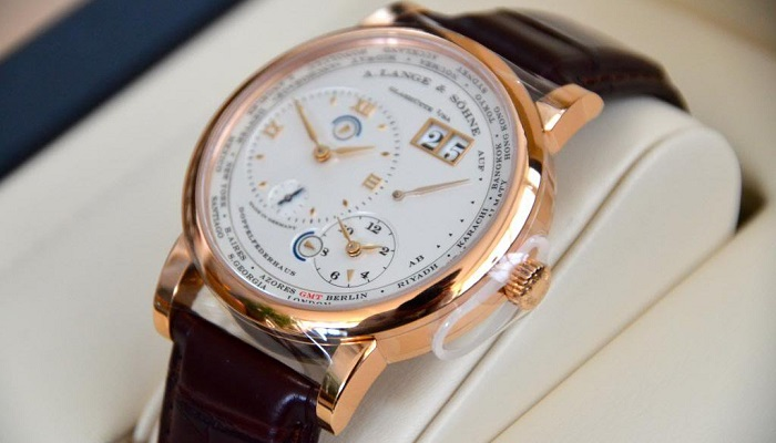 A. Lange & Söhne Lange 1 Time Zone Honey Gold Saatinin Fiyatı