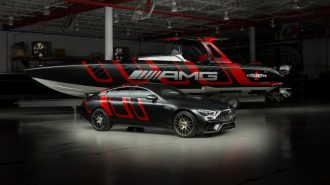"Mercedes-AMG & Cigaratte Racing'in 1.600 Ps'lik ""41 Carbon Edition"" Sürat Teknesi!"